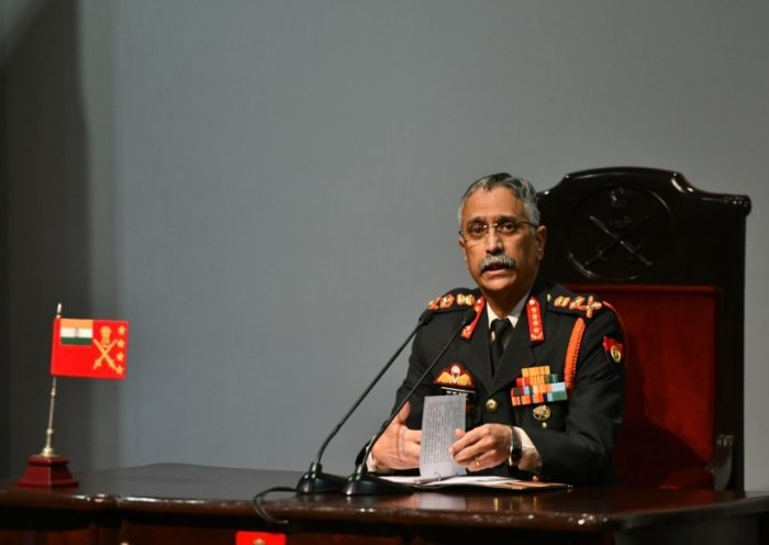 Army chief General Manoj Mukund Naravane